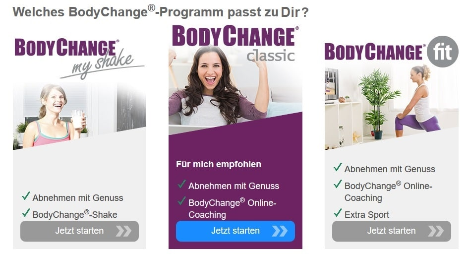 BodyChange Programme