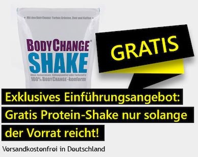 BodyChange Fit Einführungsangebot 2016