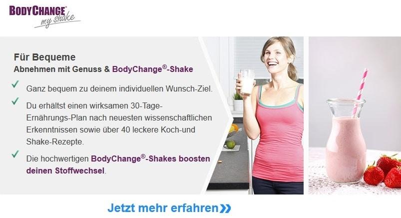 BodyChange MyShake Erfahrungen