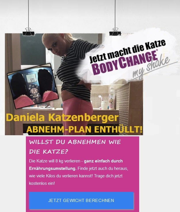 Katzenberger BodyChange My-Shake