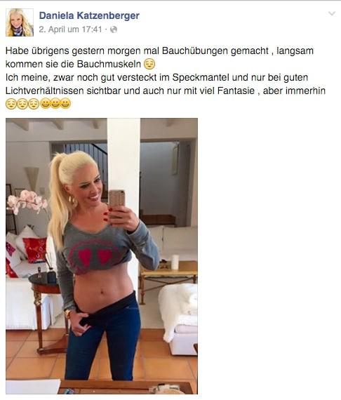 Katzenberger Diät BodyChange myShake Erfolg Facebook