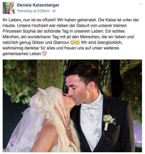 10WBC Daniela Katzenberger Hochzeit Finale