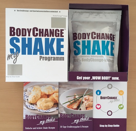 10 Weeks BodyChange Starter Pack Inhalt