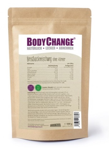 BodyChange Brotbackmischung hell